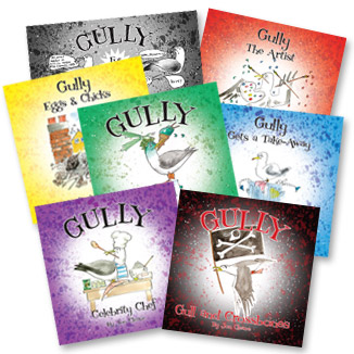 gully childrens story books